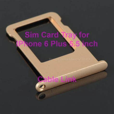 Diskon Iphone 6 Plus 5 5 Sim Card Tray Holder Grey sim card tray for iphone 6 plus 5 5 inch multi color
