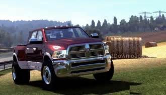 dodge ram 3500 hd ets 2 mods ets2downloads