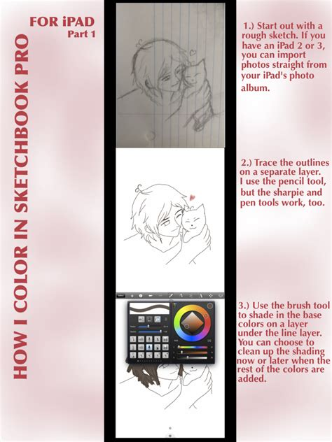 sketchbook pro coloring tutorial how i color in sketchbook pro for part 1 by gydrozmaa