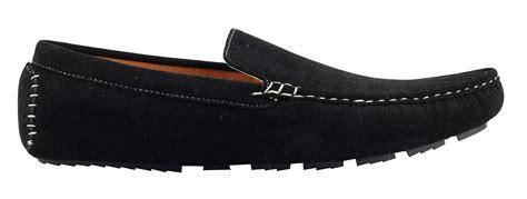 Mr La Mocassin Suede Black Original mens faux suede leather black brown morden drivers
