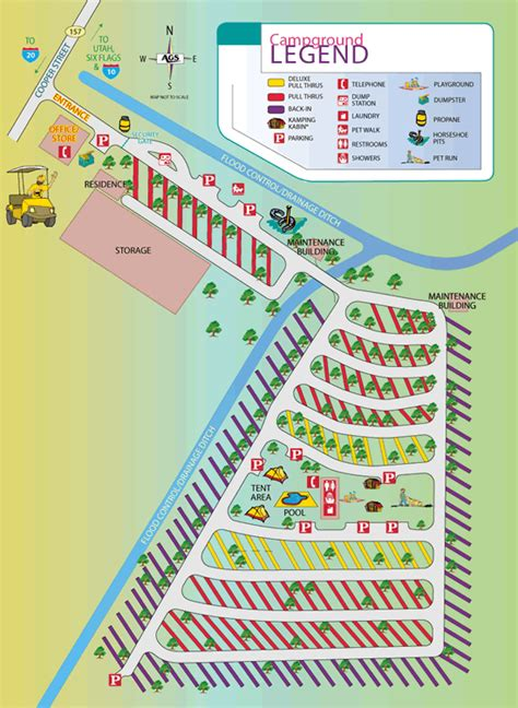 texas rv parks map activities attractions and events for the dallas arlington koa rv park in texas