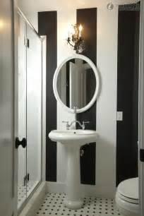 Bathroom Wallpaper Black And White Small Bathroom Black And White Wallpaper Picture Bathroom