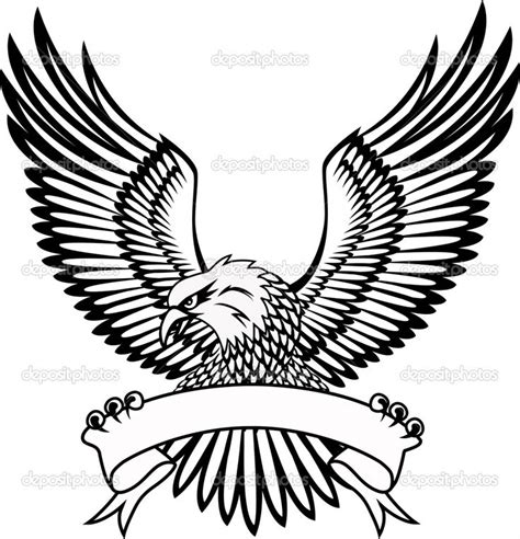 traditional eagle tattoo vector my tattoo isaiah 40 31 in the banner and rlh above the