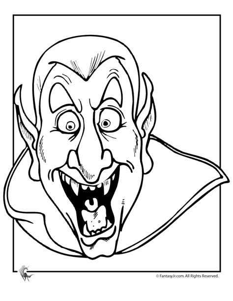 dracula coloring pages coloring home
