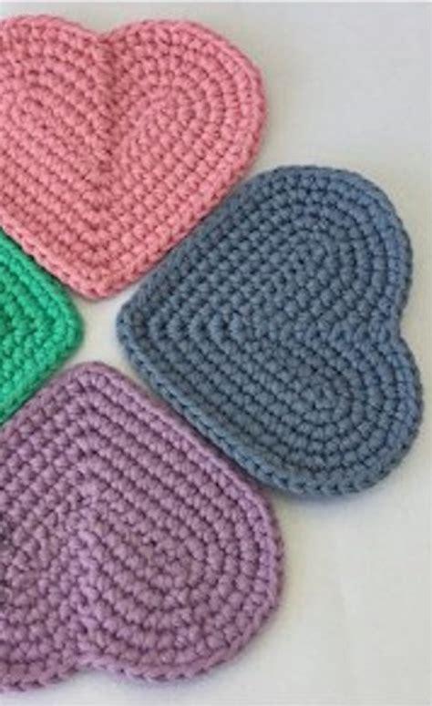 easy crochet heart pattern uk 317 besten herz bilder auf pinterest stricken h 228 keln