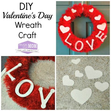 what day does valentines day fall on diy s day wreath craft with fur and