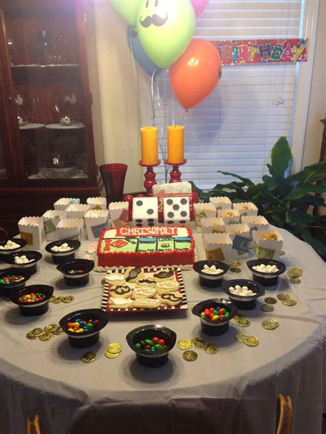 themed party night ideas 26 best images about monopoly themed party on pinterest