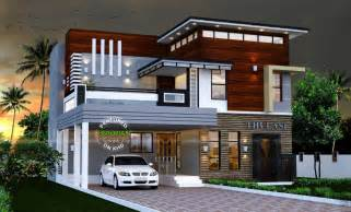 modern contemporary houses 2165 sq ft modern contemporary house amazing