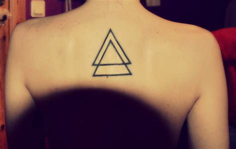 what does a triangle tattoo mean triangle images designs