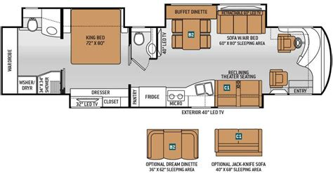 class a rv floor plans 2015 thor tuscany 40dx class a luxury motorhome roaming