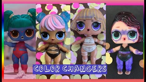chagne colored ties which lol dolls color change lol confetti pop