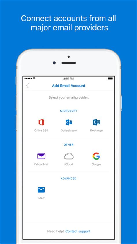 Office 365 Outlook Iphone App Microsoft Outlook Email And Calendar On The App Store