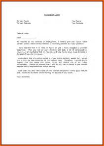 9 professional resignation letter sample with notice