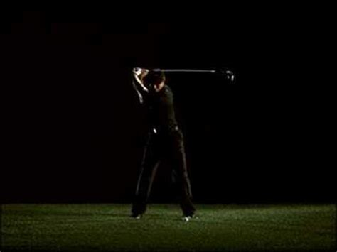 slow motion video of perfect golf swing tiger woods swing youtube