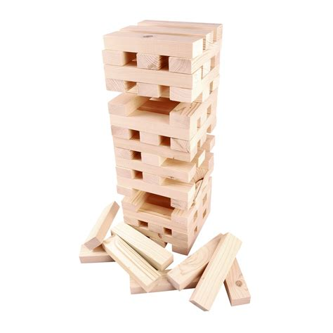 Or Jenga Jenga Tower Garden Outdoor Summer Bbq Family Ebay