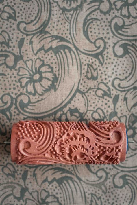 paint rollers with patterns wallpaper paint the paint roller that creates a wallpaper