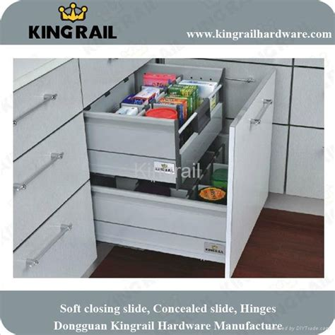 Soft Kitchen Drawer Mechanism by Kitchen Drawer With Soft Closing System Krs03 3