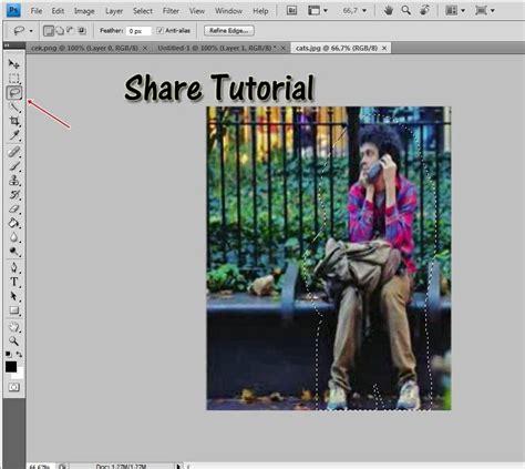 tutorial edit foto dengan photoshop pdf sharing tutorial cara menggabungkan object menggunakan