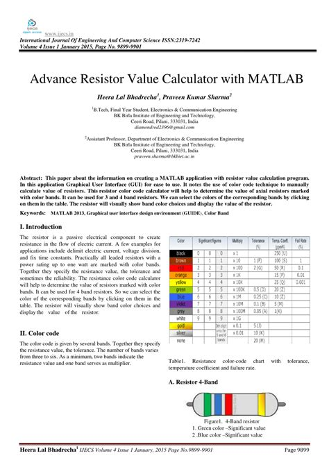 graphical resistor calculator software free 28 images advance resistor value calculator with