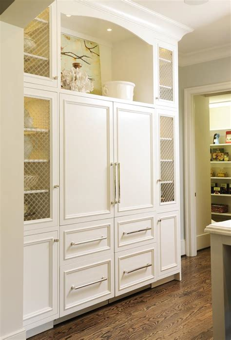 cabinet panel front refrigerator a up of caroline weigel looney s kitchen designs with sub zero and wolf s flush