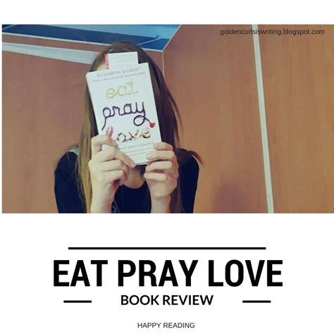 eat pray book report golden curls