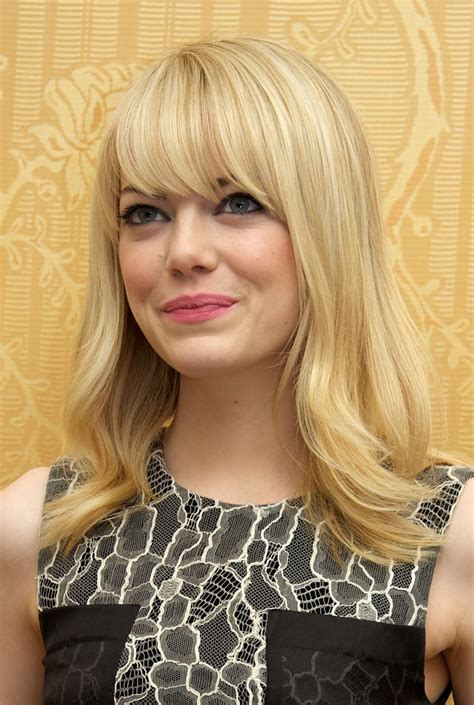 blonde hairstyles no bangs a gallery of hairstyles featuring fringe bangs