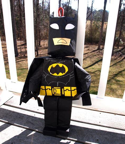 Batman Lego Pinata Tutorial Rebecca Autry Creations