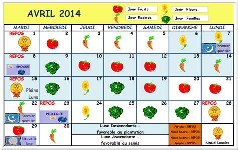 Calendrier Lunaire Cheveux 2014 Au Tour Du Jardin Avrilau Tour Du Jardin Potager
