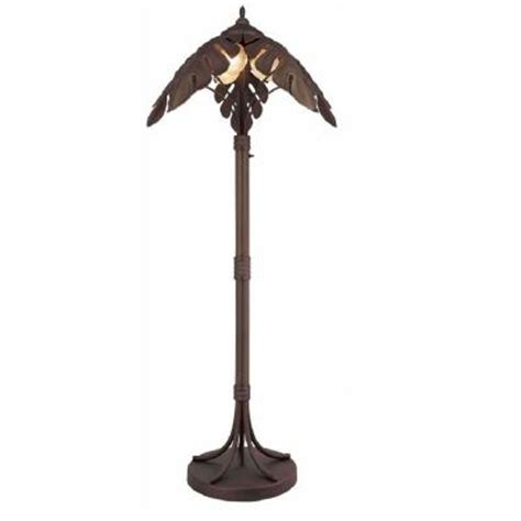 Bel Air Lighting 3 Light Palm Tree Outdoor Post Light
