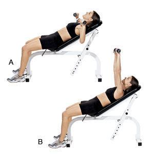 incline bench press dumbbell dumbbell workout routine best home dumbbell quot db quot workout