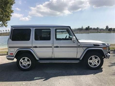 Mercedes For Sale In Miami by 2002 Mercedes G Class For Sale Carsforsale