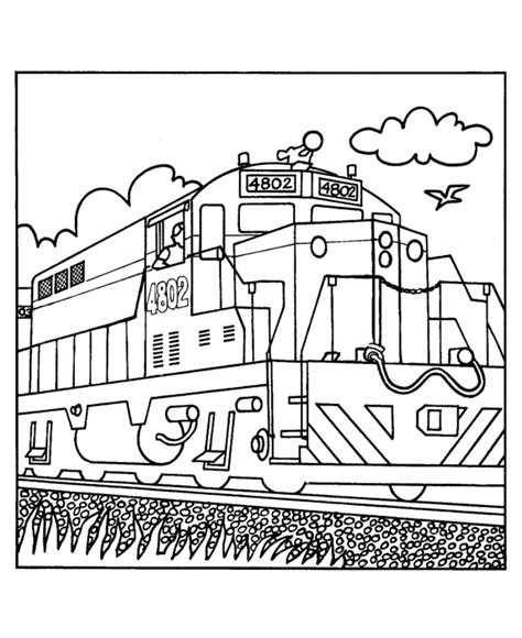 train coloring pages free printable dequincy railroad museum let s color