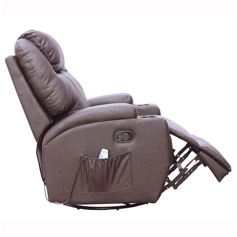 best rocker recliner for nursing cinemo brown leather recliner chair rocking massage swivel