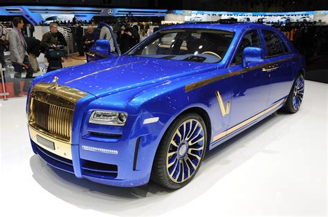 roll royce ghost blue mansory rolls royce ghost blinged at geneva show