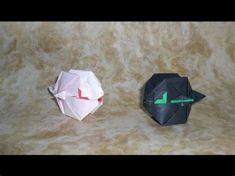 Origami Puffer Fish - origami fugu puffer fish s 233 bastien limet tutorial