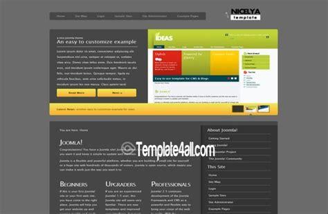 grey green ecology joomla template