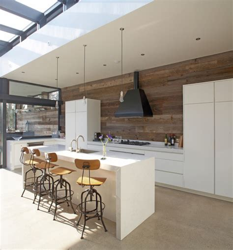 contemporary kitchen design yay or nay timber splashbacks