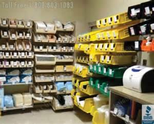 room supply kanban method to prevent medicine stockouts logitag