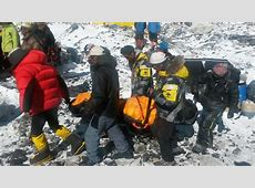 Nepal Earthquake: Footage of Everest Avalanche Hits ... 2015 Mount Everest Deaths