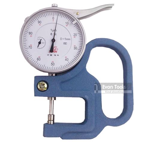 Best Seller Alat Micrometer Wynns aliexpress buy thickness 0 1 30 0 001mm portable leather paper thickness