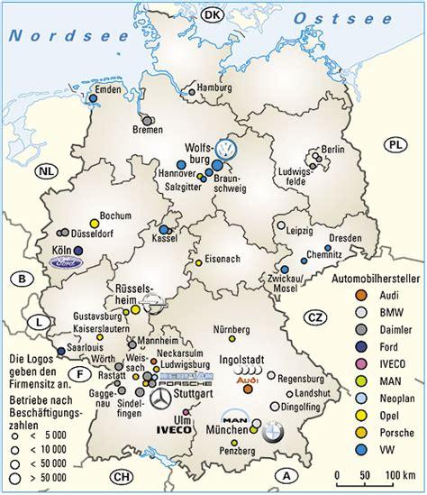 Penghilang Bau Karpet Karet Mobil produktionsstandorte automobilhersteller deutschland