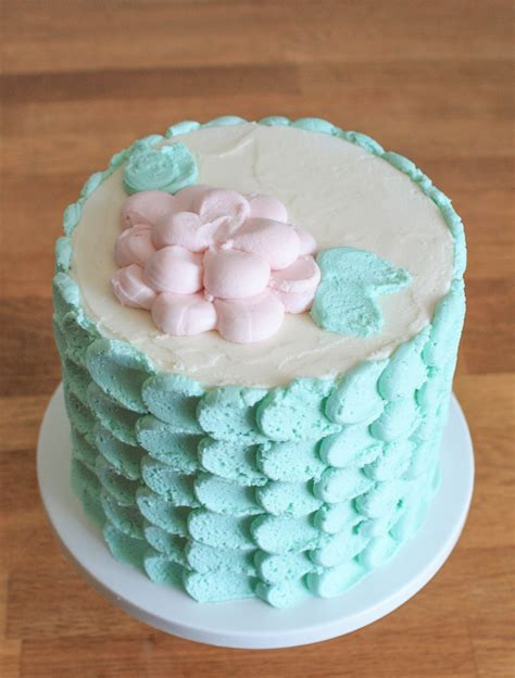 Cake Decorating Blogs by Buttercream Petal Technique Free Tutorial