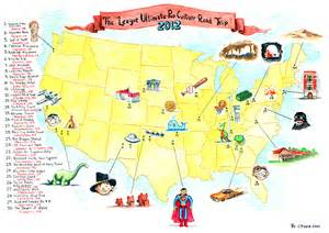 Map My Trip Usa by Tupa S Treasures 187 Route 66