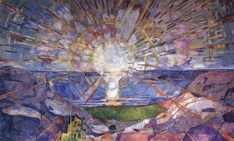 Canvas Without Frame The Sun Edvard Munch Xiamen Oil Painting 34707