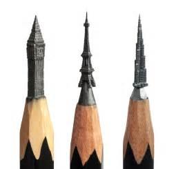 delicate pencil lead sculptures carved by salavat fidai