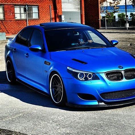 bmw supercar blue damnnnn republic wraps matte blue bmw m5 luxury car