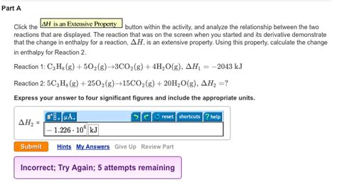 when is a an solved part a click the ah is an extensive property butto chegg