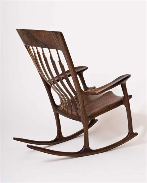 Handcrafted Rocking Chairs - crafted george washington rocking chair by hal