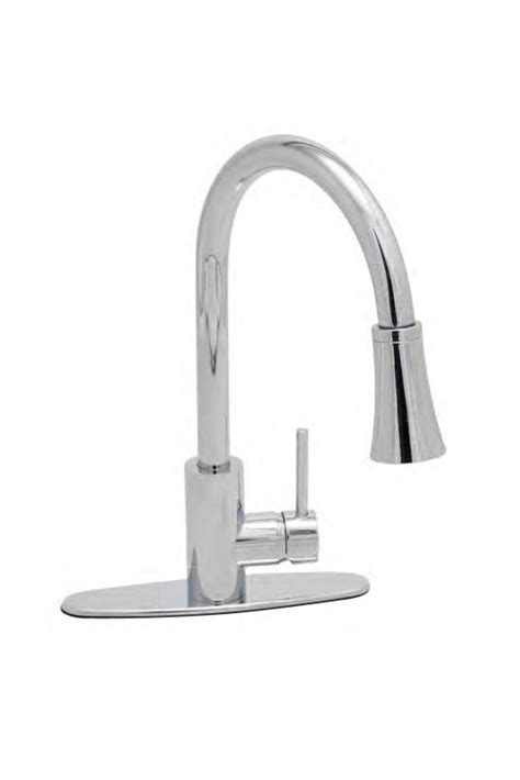 proflo kitchen faucet faucet pfxc7011cp in chrome by proflo