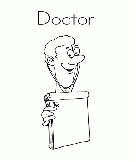 cute doctor coloring page doctor coloring pages for kids kids coloring